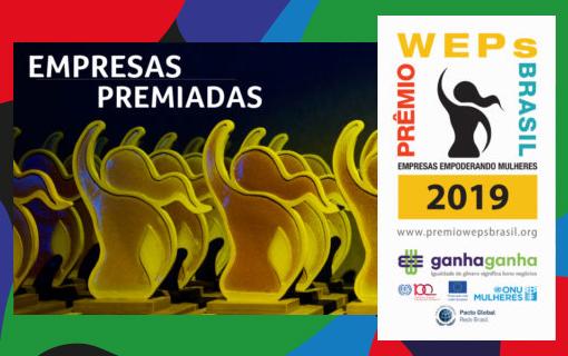 ¡Felicitaciones a las empresas ganadores del Premio WEPs Brasil 2019!
